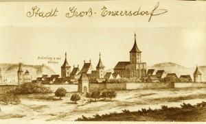 Stadt Groß-E rotkl